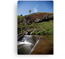 On The River Medlock Canvas Print