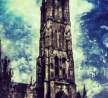 Ghent Church by Keia-sky