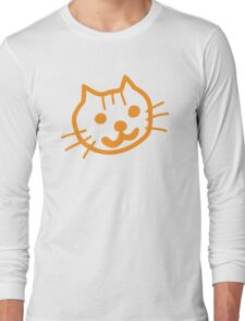Cute Kitty Long Sleeve T-Shirt