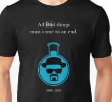 Breaking Bad - In Memoriam (Blue Sky Crystal) Unisex T-Shirt