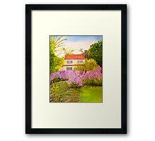 Rustic Blossom Framed Print