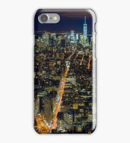 Downtown Manhattan iPhone Case/Skin