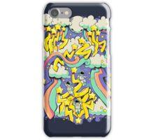 Space Graffiti iPhone Case/Skin