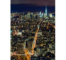 Downtown Manhattan Photographic Print