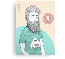 BEARDMAN Canvas Print
