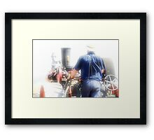 """ Driving Reality Thru a Dream "" Framed Print"