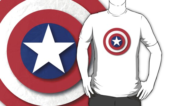 Capt america paper shield by nick94