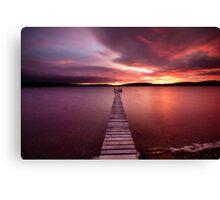 Walk the plank Canvas Print