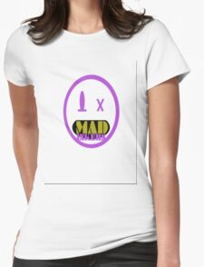 Mad Logo Womens Fitted T-Shirt