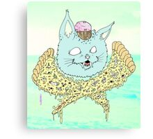 PIZZACAT Canvas Print