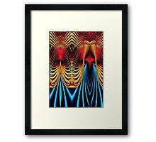 Male and Female Framed Print