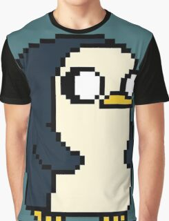 Gunther Pixel Graphic T-Shirt