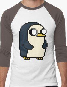 Gunther Pixel Men's Baseball ¾ T-Shirt