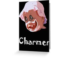 CHARMER Greeting Card