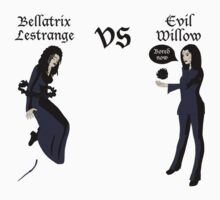Evil Willow VS Bellatrix Lestrange by Becca Smith