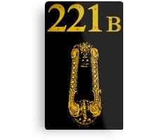 Sherlock - 221B Metal Print