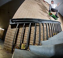Rod Harper - Kickflip backside 5-0 by asmithphotos