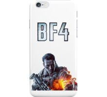 Battlefield 4 White iPhone Case/Skin