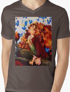 Bilbo and Butterflies Mens V-Neck T-Shirt