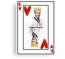 Marco Mengoni King of hearts Canvas Print