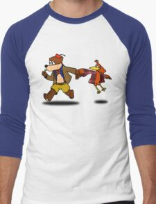 Banjo KaWHOee Men's Baseball ¾ T-Shirt