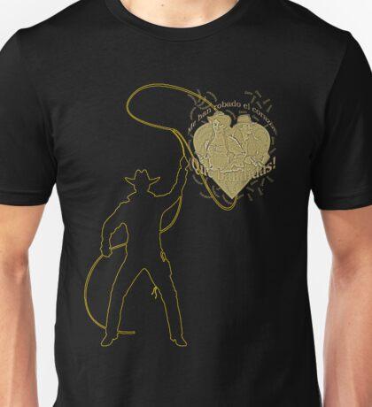 Roping my heart Unisex T-Shirt