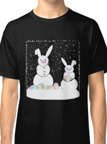 Easter Snow Bunnies Classic T-Shirt