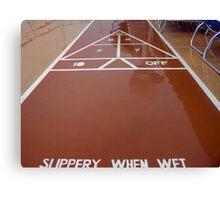 Rain Delay Canvas Print