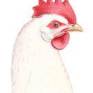 Leghorn Rooster by joeyartist