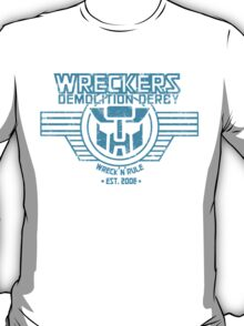 Wreck 'n' Rule - Blue T-Shirt