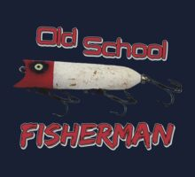 Old School Fisherman T-shirt T-Shirt