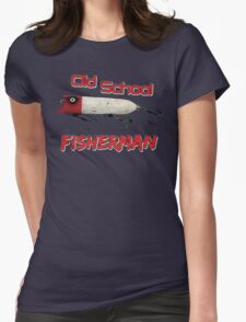 Old School Fisherman T-shirt Womens Fitted T-Shirt