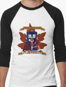 Clara and The Doctors Men's Baseball ¾ T-Shirt