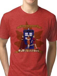 Clara and The Doctors Tri-blend T-Shirt