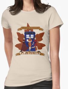 Clara and The Doctors Womens Fitted T-Shirt