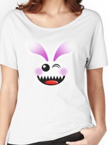 SAVAGE BUNNY Women's Relaxed Fit T-Shirt