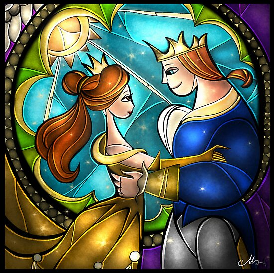 Tale as old as time by Mandie Manzano
