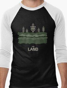 The Land Men's Baseball ¾ T-Shirt