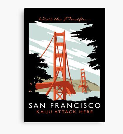 Visit The Pacific Print Canvas Print