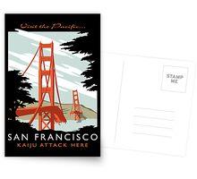 Visit The Pacific Print Postcards