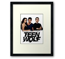 Teen Wolf Inspired - Original Cast Season 1-3 Framed Print