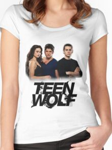 Teen Wolf Inspired - Original Cast Season 1-3 Women's Fitted Scoop T-Shirt