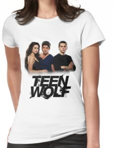 Teen Wolf Inspired - Original Cast Season 1-3 Womens Fitted T-Shirt