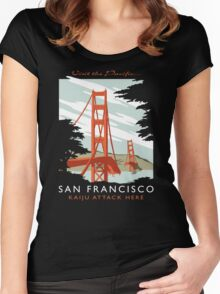 Visit the Pacific Women's Fitted Scoop T-Shirt