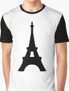 Eiffel Tower of France Graphic T-Shirt