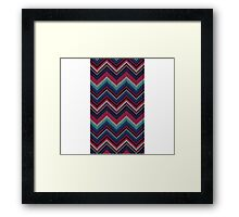 Sweater Pattern Framed Print