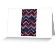 Sweater Pattern Greeting Card