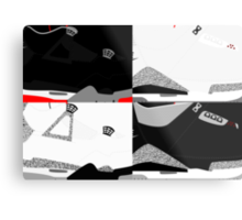 Made in China - Cement Pack Sample Sizes - Pop Art, Sneaker Art, Minimal Metal Print