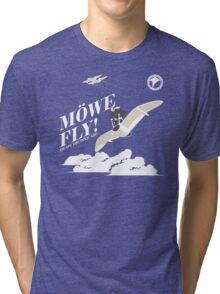 Nausicaa Mowe Fly Tri-blend T-Shirt