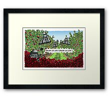 The Orchards of Skaro Framed Print